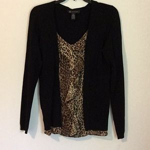 INC pullover Blouse